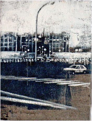 Secuencia imaginada. Nivel 1. Cuadro 12, 2004, 16,3 x 12,5 cm