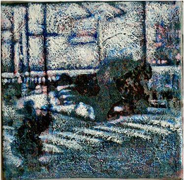 Secuencia imaginada. Nivel 1. Cuadro 14, 2004, 12,9 x 13,2 cm