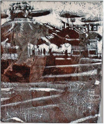 Secuencia imaginada. Nivel 1. Cuadro 17, 2004, 17,4 x 14,5 cm