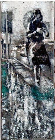 Secuencia imaginada. Nivel 1. Cuadro 2, 2004, 17,2 x 6,6 cm