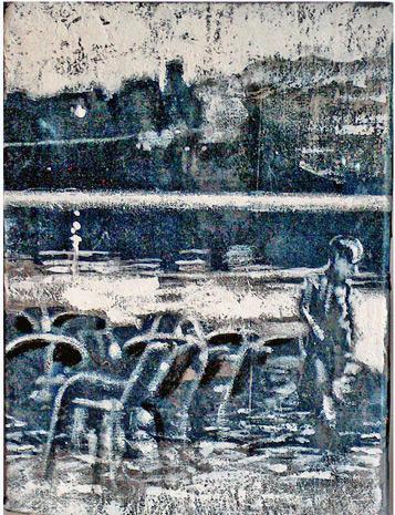 Secuencia imaginada. Nivel 1. Cuadro 20, 2004, 16,4 x 12,2 cm