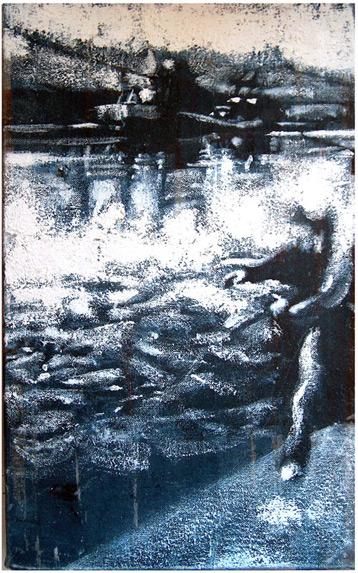 Secuencia imaginada. Nivel 1. Cuadro 23, 2004, 20,2 x 12,7 cm