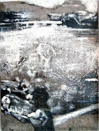 Secuencia imaginada. Nivel 1. Cuadro 5, 2004, 16,3 x 12,3 cm