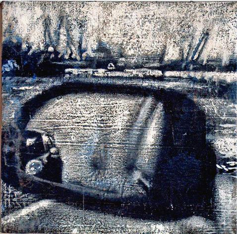 Secuencia imaginada. Nivel 1. Cuadro 6, 2004, 16,6 x 17 cm