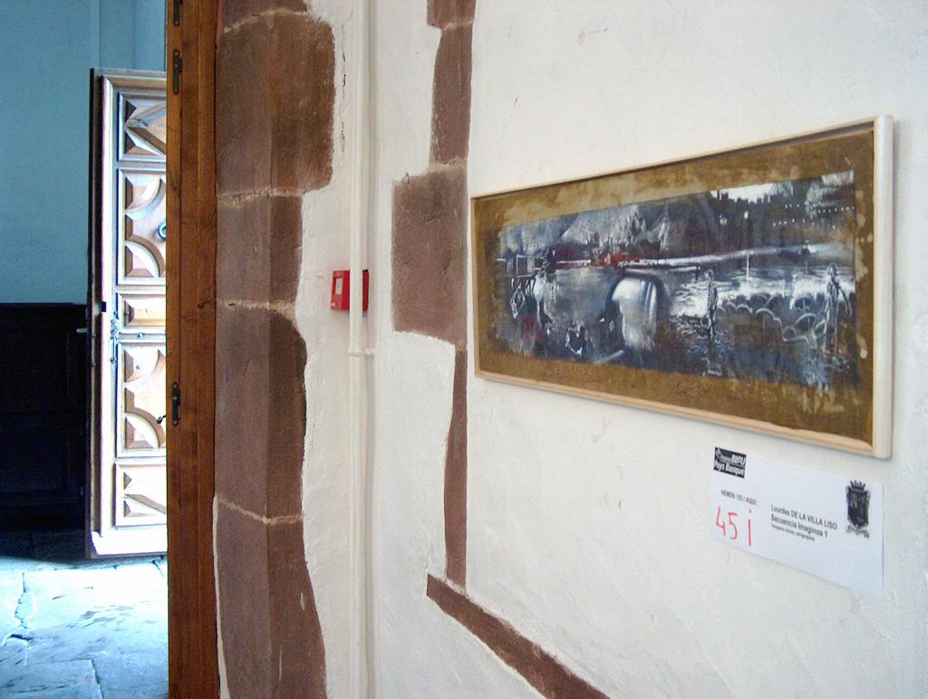"""Secuencia imaginada. Nivel 1, """"IV Biennale Art Contemporain de Navarre"""", St. Jean Pied de Port, 2005"""