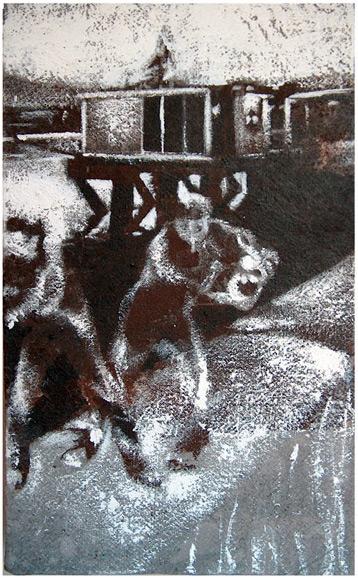 Secuencia imaginada. Nivel 1. Cuadro 24, 2004, 20,4 x 12,5 cm