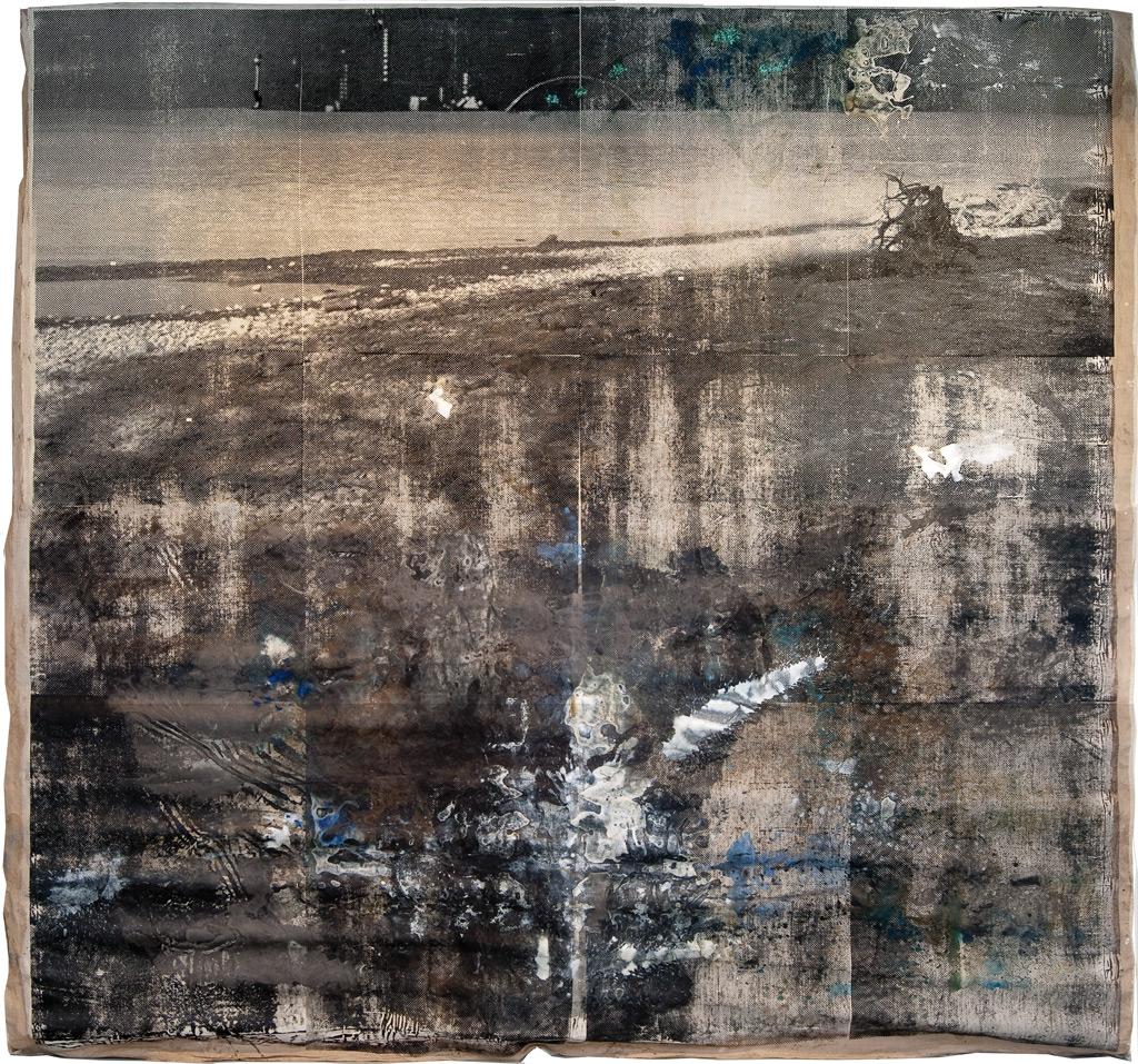 Sueño del observador 3, 2013 (versión sobre tela)
