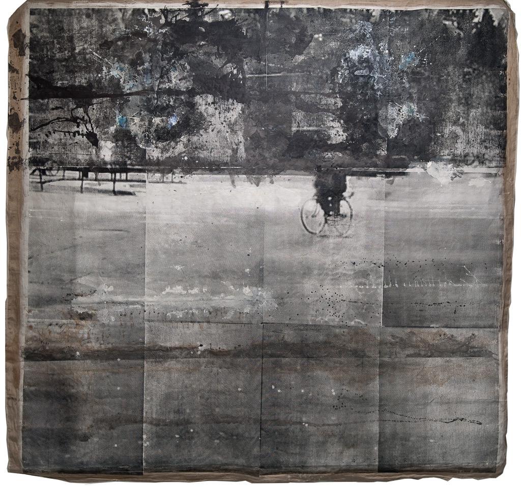 Sueño del observador 4, 2013 (versión sobre tela)